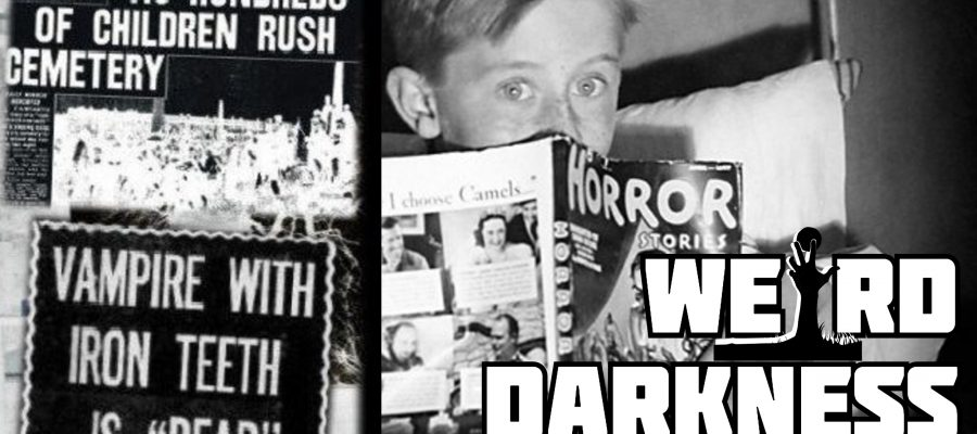 """THE GORBALS VAMPIRE AND MASS HYSTERIA"""" and More Terrifying"""